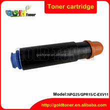 NPG25 black toner cartridge compatible for ir3025 3225 for canon
