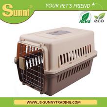 Pet transport box outdoor dog house plastic