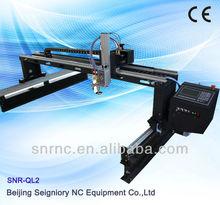 Máquina de alta calidad económica y práctica comprobada de luz pórtico SNR-QL2 plasma / fuego de metal cutter