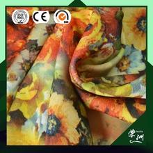 No MOQ Custom Digital Printed Chiffon Fabric