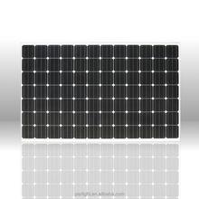 350W mono portable 220v battery power supply advanced solar panel with CE TUV