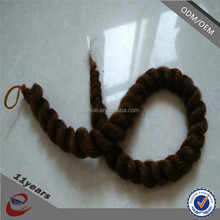 synthetic braiding hair extension heat resistant crochet havana mambo braid hair