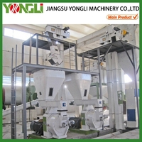YONGLI CE approved Wood sawdust pellet production line