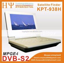 Stocks for KPT-938H 7 inch TFT-LED Portable Digital Satellite Finder Signal Meter HD mpeg4 DVB-S2 sat signal meter KPT938H