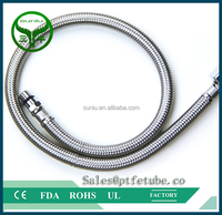 PTFE tube braid with teflon hose / industry hose / rubber hose