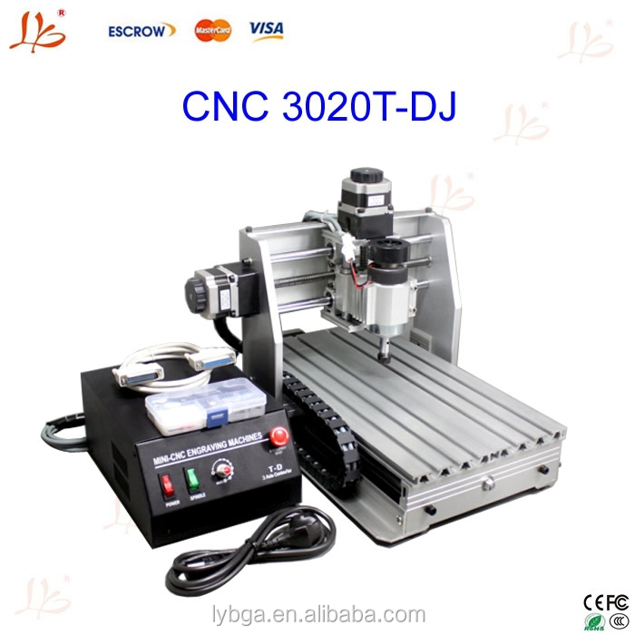 300w Dc Power Spindle Motor Cnc Engraver 3 Axis Cnc Router
