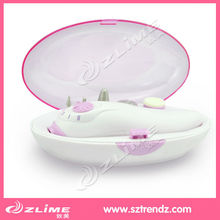 Electric protable manicure pedicure with gift box for travel or home use