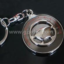 Beautifull BBS wheel car parts key chain , Car steering wheel keyring ,Tire key chain