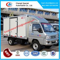 Foton mini cargo van for sale,china mini van truck