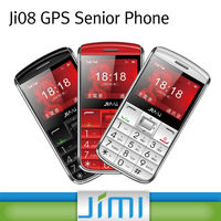 JIMI Hot Sell Dual Sim Dual Stand bygps tracker mobile phone with SOS and voice monitor function