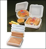 Hot Dog And Bun Container