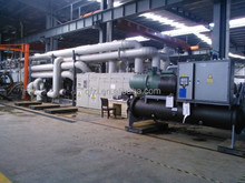 Screw water cooled industrial chiller