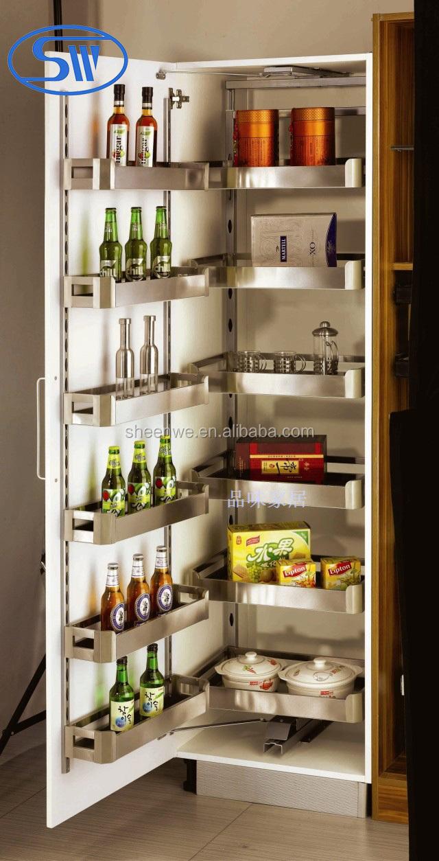 Rangement cellier cuisine amenagement de placard de for Amenagement armoire cuisine