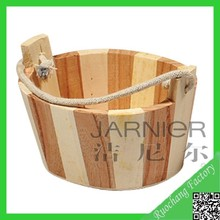 Factory direct sale nature empty wooden buckets for sale