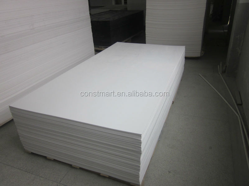 Flexible cheap price rigid big building material pvc foam for Flexible roofing material