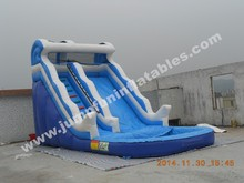 Top sale inflatable water slide with water pool,commercial rentals waterslide for fun