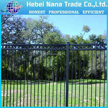 Cheap fence panels for sale / galvanized steel fence/farm fence
