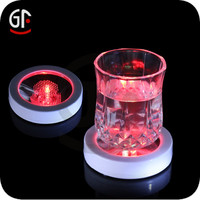 RGB Color Changing Party Favor LED Cup Coaster