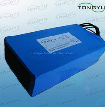 48V 12Ah Electric Bike Lithium Battery , LiFePO4 Pack With High Discharge Rate