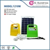 Energy saving high power solar system with deep cycle gel battery