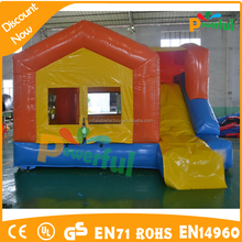 mini inflatable bouncer with slide inflatable combo game