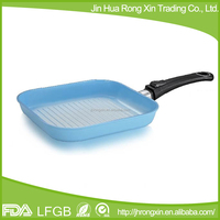 Die casting aluminum square pan with removable handle