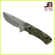 Plastic Camouflage Handle Self-defense Knife