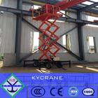 electric elevador hidráulico móvel scissor 500kg 5m