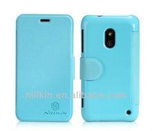 For Nokia Lumia 620 NILLKIN Fresh Two Mobile Phones Leather Case