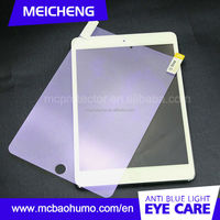 for iPad wholesale tempered glass screen guard, clear LCD screen protector cover