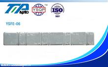 Fe adhesivas equilibrado de las ruedas chapado en Zinc 5 G + 10 G