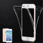 New Crystal Clear Transparent Front & Back Full Protector Case capa para Apple iPhone6 / iPhone6S