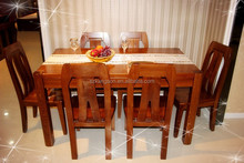 Pictures Of Hotel Restaurant Used Real Solid Teak Wooden Dining Table Chairs For Events