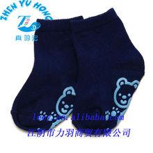 Wholesale 100 cotton baby grip socks, footwear maufacturer