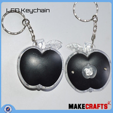 LK-Ac(81) ECO-friendly anti-bacterial mercedes silicon key cover from China Factory Multi Color LED Keychain