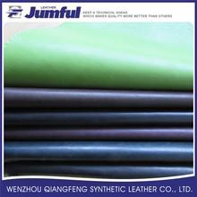 Wenzhou impreso barato de cuero artificial, cuero artificial, pvc cuero artificial