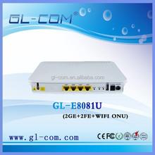 10/100/1000Mbps FTTH EPON ONU Optical Network 4 Port ONU