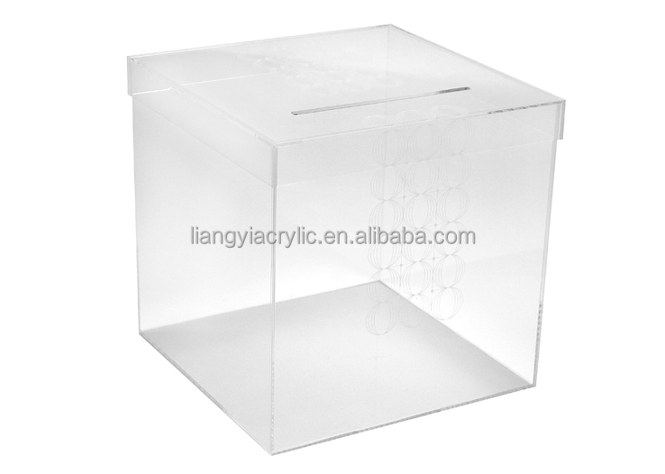popular wall mounted clear acrylic mailbox postbox letter With acrylic letter box