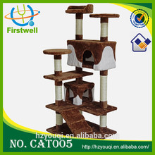 large wooden cat play toys climbing cat tree top sales