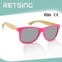 Bamboo Wooden Sun Glasses Metal Hinge sunglasses