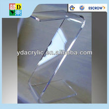 Good selling of s shaped acrylic coffee table from china furnitures supplier