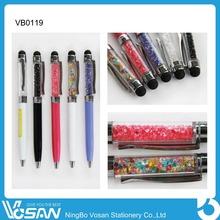 2015 Hot Sales Colorful Diamond Ball Pen Slim Ball Pen