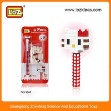Promotion item diy intelligence cartoon pen for kid