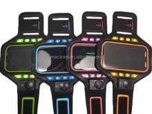 spandex Hot Sale Running LED armband/alibaba express / reflective led armband