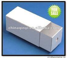 2012 hot sale custom white paper drawer box made in china