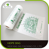 Supermarket carrier cheap t-shirt plastic hdpe and ldpe bag