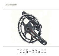 Double Chainring Crankset For Bike Samox Carbon Crankset For Road Bicycle