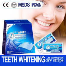 New nice product teeth whitening dry strips
