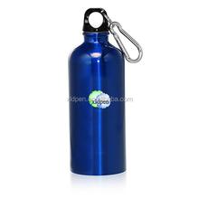 500ml Stainless Steel Bike Bottle with Carabiner/metal water bottle