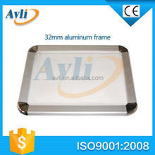 easy open aluminum mitred or round photo frame